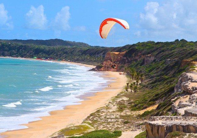 Atração na Praia de Pipa