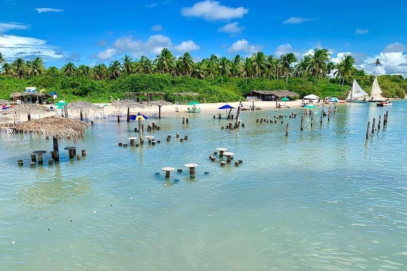 Barra do Cunhaú no Rio Grande do Norte
