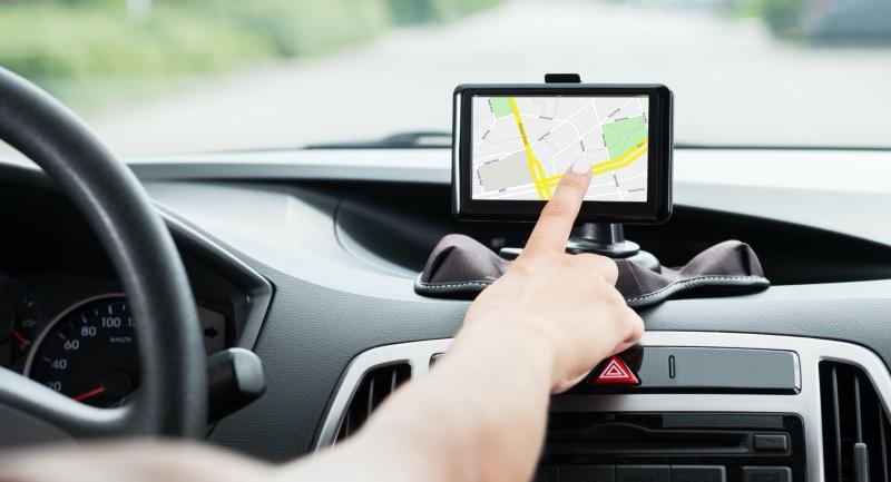 Carro com GPS
