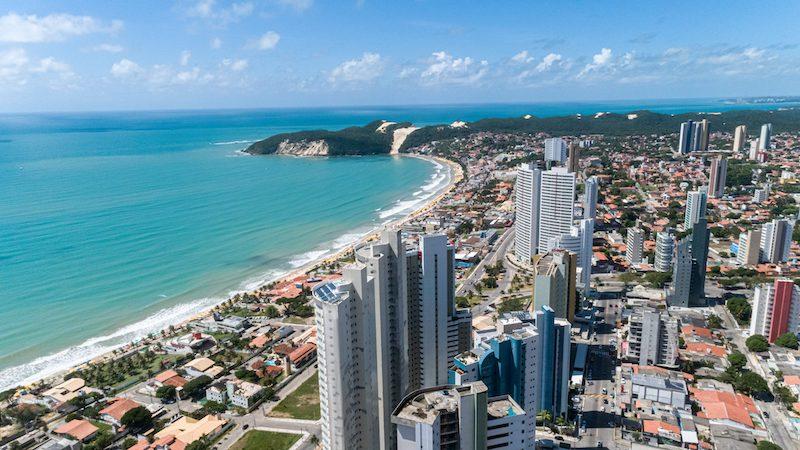 Cidade de Natal no Rio Grande do Norte