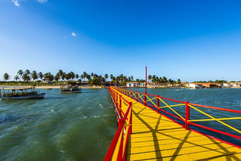 Galinhos no Rio Grande do Norte