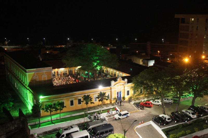 Centro de Turismo de Natal à noite