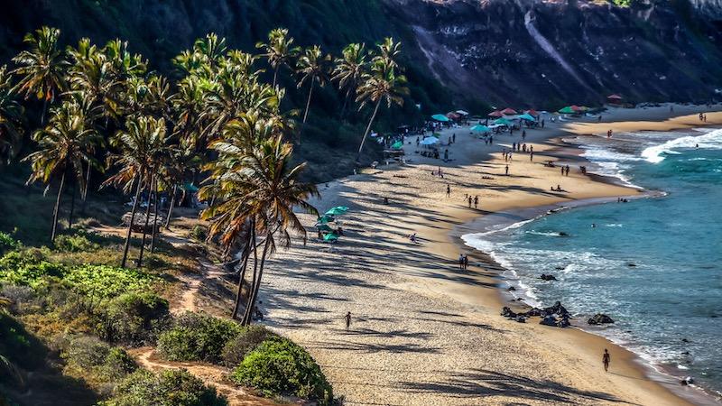 Paisagem da Praia de Pipa