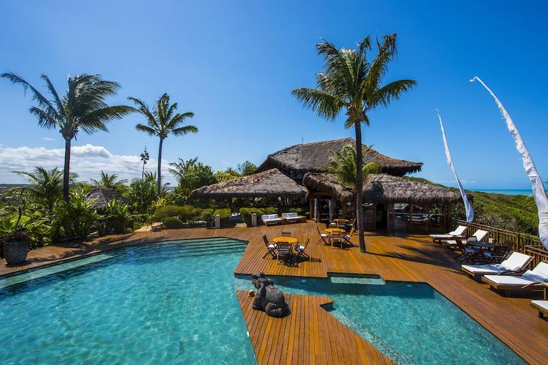Piscina do hotel Sombra e Água Fresca em Pipa