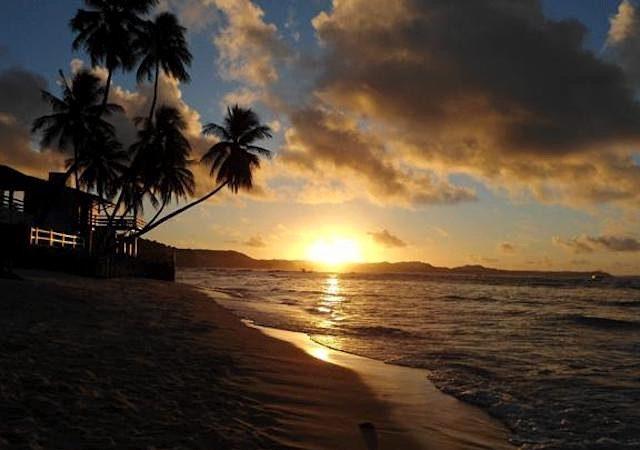 Pôr do sol na Praia de Pipa