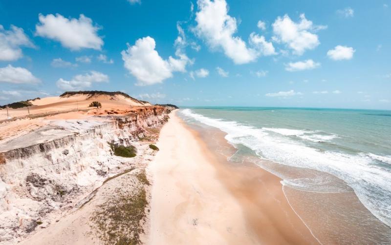 Praia de Cacimbinhas em Pipa
