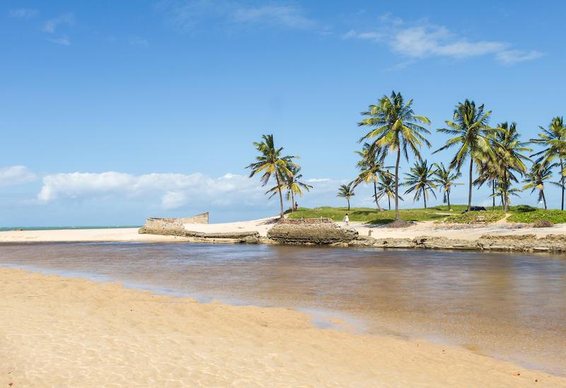 Praia de Sibaúma em Pipa