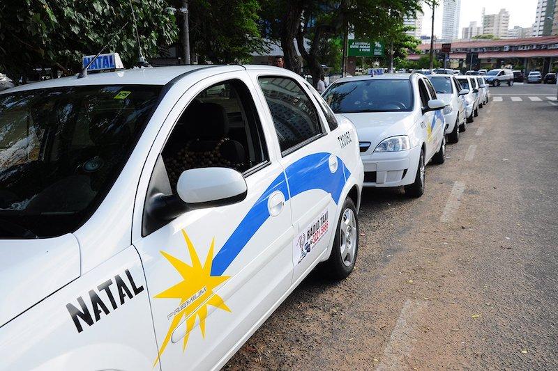 Táxis em Pipa