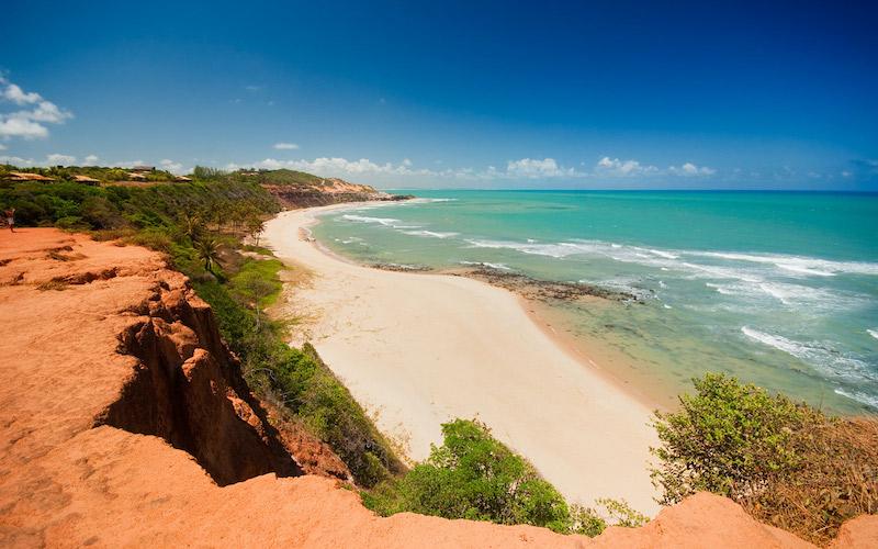 Vista da Praia do Amor em Pipa