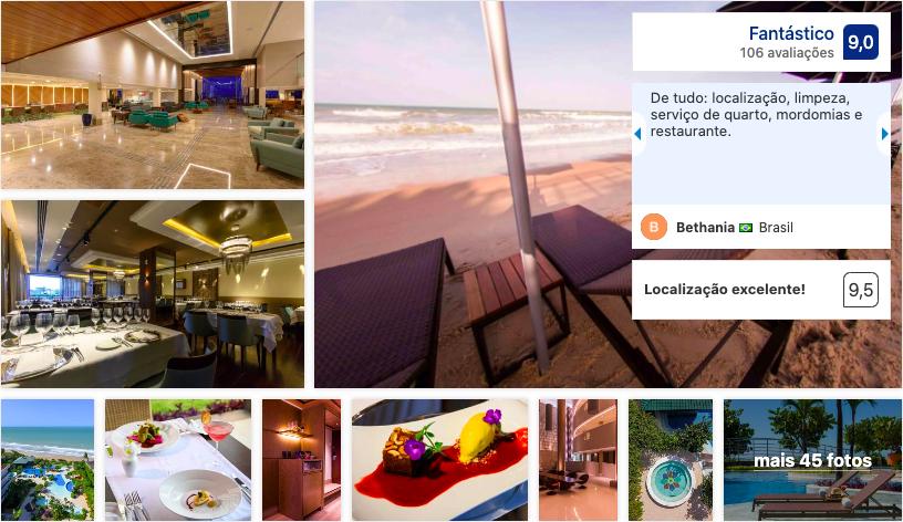 Vogal Luxury Beach Hotel & SPA em Natal