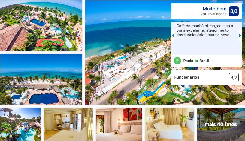 Acquapipa Resort em Pipa
