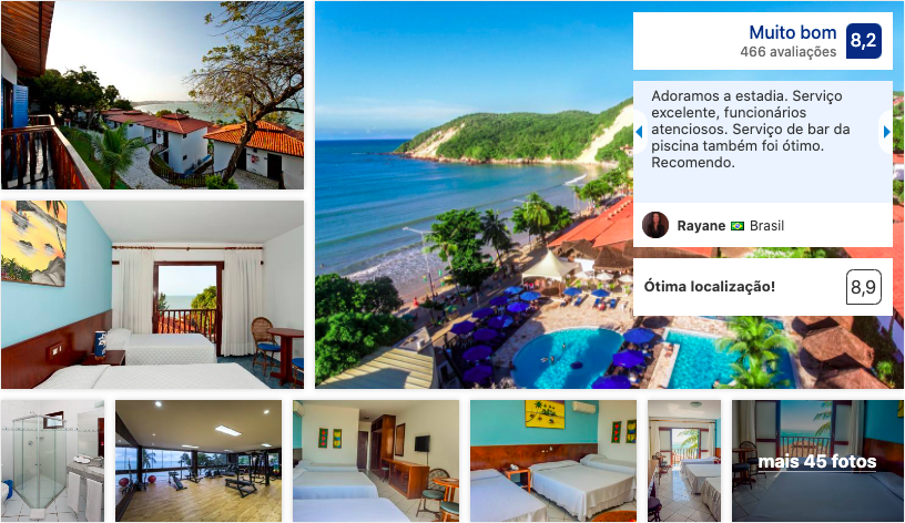 D Beach Resort em Natal