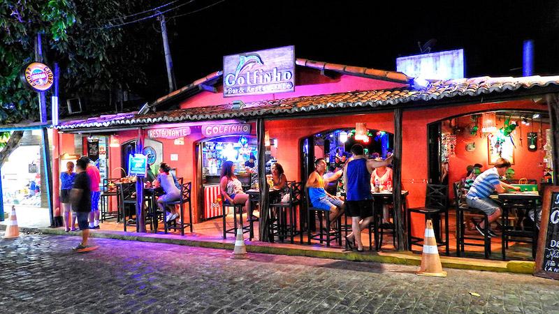 Golfinho Bar e Restaurante em Pipa