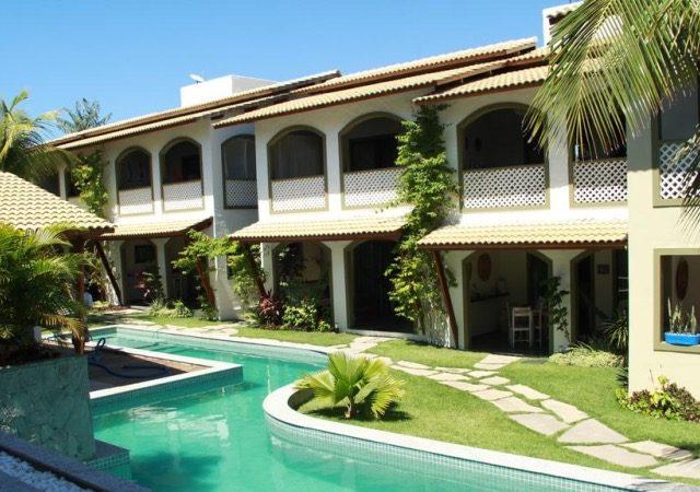 Hotéis no centro turístico de Pipa