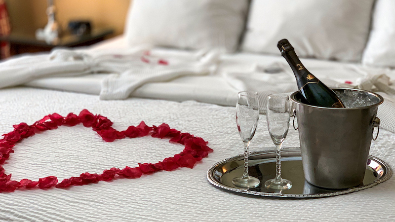 Hotel romântico em Pipa