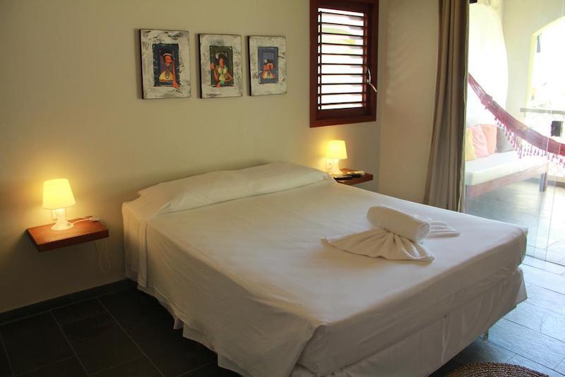 Quarto do apart-hotel Flor da Mata em Pipa
