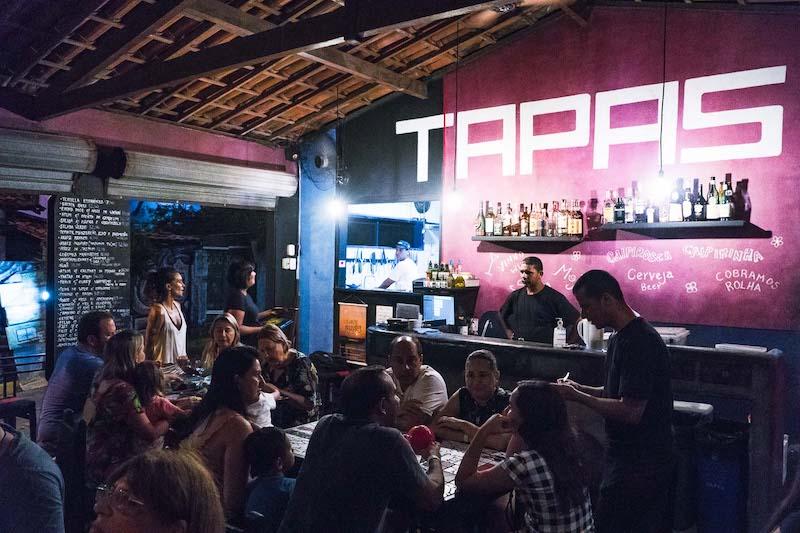Restaurante Tapas em Pipa