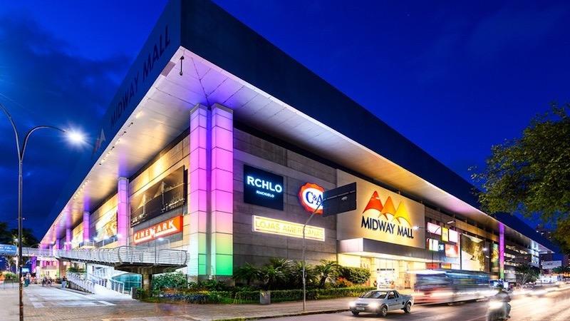 Shopping Midway Mall à noite em Natal