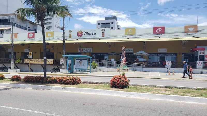 Shopping do Artesanato Vilarte Ponta Negra em Natal