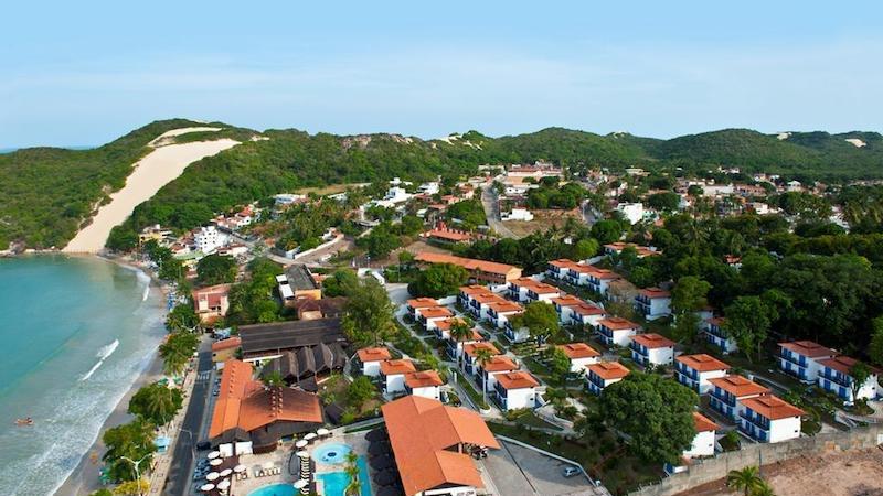 Vista do bairro de Ponta Negra em Natal