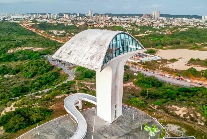 Monumento no Parque da Cidade em Natal