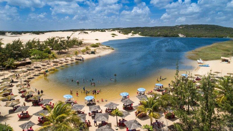 Vista da Lagoa de Pitangui